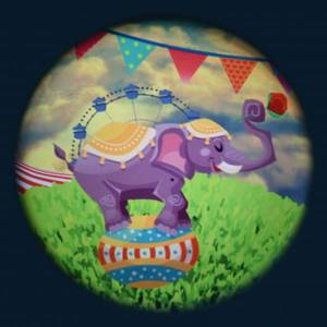 Bilde av Solar effekthjul sirkus