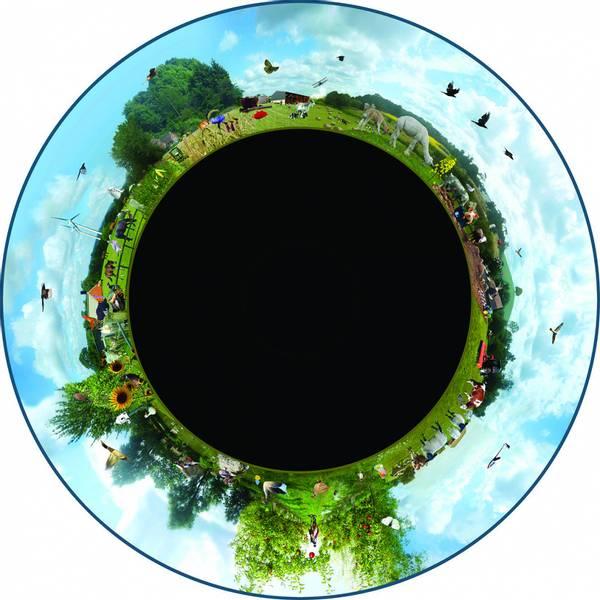 Solar max wheel farming
