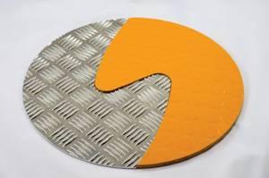 Bilde av Taktile sirkler Oransje & Silver