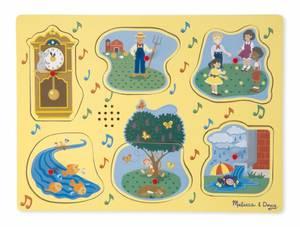 Bilde av Puslespill barnesanger